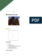 Brownie do Luiz    MAIS VOCÊ