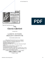 John G Lake Newspaper Clips