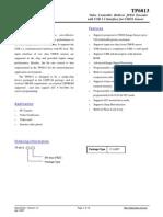 TP6813 Data Sheet v1.0