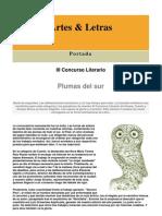 Resultados Concurso Literario Elbuho 2009