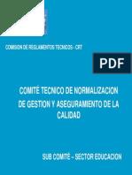 Calidad Sector Educacion Ing Guillermo Salas