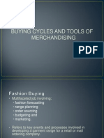 Buying Cycles and Tools of Merchandising