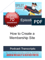 How to Create a Membership Site