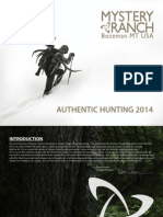 Mystery Ranch Hunting Catalog 2014