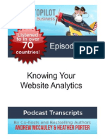 Knowing Your Website Analytics