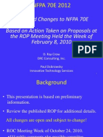 2 Nfpa 70e Changes 2010 Rop