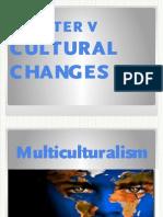 4. Cultural Changes
