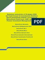 RelazioneSemestrale Al 30giugno2009 FondiBancoPosta