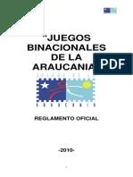 Bases Juegos Araucania Valdivia