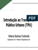 Introdução Transporte Publico