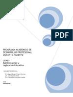 administracionylegislacioneducativa-131202185150-phpapp02