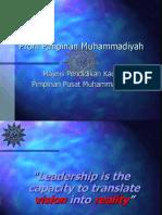 Profil Pimpinan Muhammadiyah