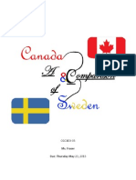 A Comparison of Canada and Sweden