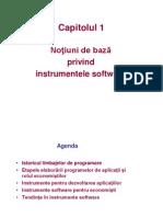 Capitolul 1 - Notiuni de Baza Privind Instrumentele Software