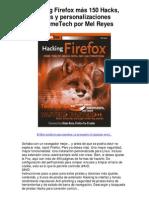 Hacking Firefox – Mel Reyes