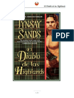 Sands Linsay - Highlands 01 - El Diablo de Las Highlands