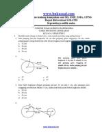 7. Contoh Soal Latihan Matematika Garis Singgung Lingkaran Kelas 8 Smp