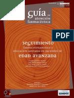 GUÍA DE ATENCION FARMACEUTICA EN EDAD AVANZADA