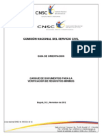 Guia Documentos Cnsc