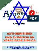 10 - Anti-semitismo Uma Evidencia Da Veracidade Biblica