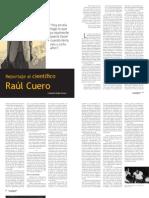 Orlando Mejía - Articulo sobre Cuero