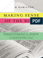 Making Sense of the Bible by Adam Hamilton (excerpt)