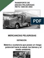 CURSO MERCANCIAS PELIGROSAS VERSIÓN MODIFICADO