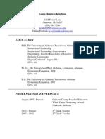 curriculum vitae feb2014