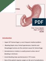 Upper Gastro Intestinal Bleeding 632