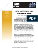 february newsletter revised 2014