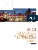 2013 Gis in Local Government Benchmark Study