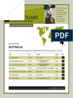 DS - Aust Course Listings 2014
