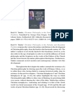 Review of Basil N. Tatakis' Christian Philosophy in the Patristic and Byzantine Tradition