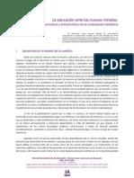 CALDEIRO PEDREIRA (2012) La educación ante las nuevas miradas competencia comunicativa y actitud crítica