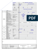 Safety Relief Valve Datasheet