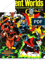 Xmen Superworld Character Sheets