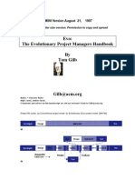 Tom Gilb - The Evolutionary Project Managers Handbook