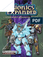 Pathfinder - Psionics Expanded