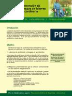 Prevencion de Riesgos en Labores de Jardineria