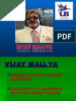 Vijay Mallya Ppt
