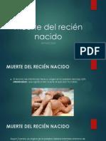 Muerte del recién nacido