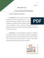 Proyecto 1 C. Describir Aspectos generales de la Computación, fecha 15-02-2014.