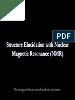 Common NMR Method for Structure Elucidation of Organic Molecule
