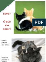 O que é o amor - What is Love