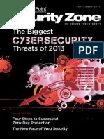 2013 Security Zone Magazine