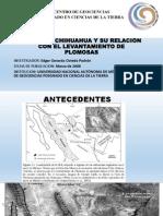 TECTÓNICA DE LA SIERRA CUESTA EL INFIERNO,