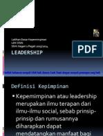Leadership Materi Ldk Osis 2013