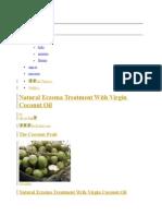 Eczema -Virgin Coconut