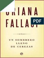 Fallaci, Oriana - Un Sombrero de Cerezas
