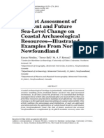 Westley Et Al 2011 Impact Assessment of Current and Future Sea-level Change on Coastal Archaeological Resources JICA 6